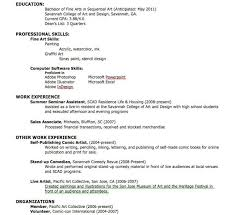 How To Create A Resume For Your First Job by Make A Resume Haadyaooverbayresort Com