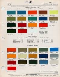 what color is this in ppg codes the 1947 present chevrolet