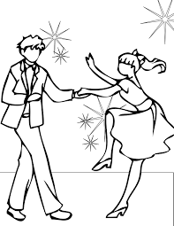 dancing coloring pages printable swings coloring page picnic