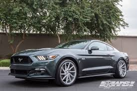 ford mustang specialist 2015 ford mustang with 20 vossen cvt in silver directional