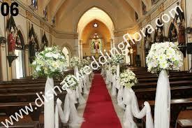 Church Decorations For Wedding Church Decorations Disnas Wedding Flora Flowers For Weddings