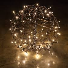 warm led christmas lights clp13771 led christmas light ball warm white flat christmas light