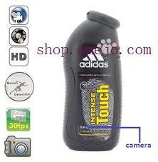 Bathroom Spy Cam by Omejo Adidas Shampoo Bottle Camera Remote Control On Off And