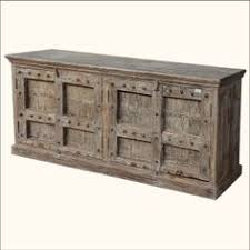 Rustic Buffet Tables by Rustic Wooden Buffet Console Console Tables U0026 Buffets Wisteria