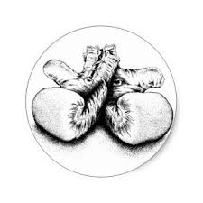 boxing gloves stickers zazzle