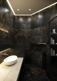 Concept Design For Tiled Shower Ideas Bathroom Amazing Black Marble Bathroom Picture Concept Design