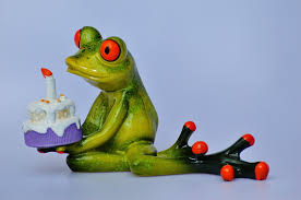 free photo happy birthday birthday frog free image on pixabay