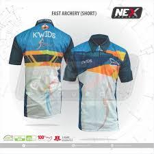 desain kaos archery jersey archery di pabrik baju panahan