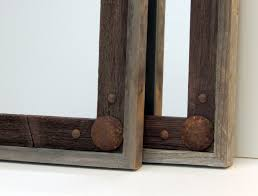 mirror on the wall easy diy reclaimed wood frame a heres couple of