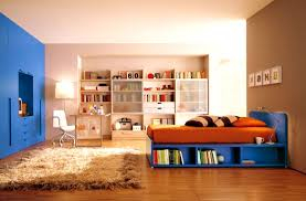 apartments handsome best chic built bookshelves bedroom for