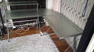 bureaux verre ides de bureau d angle en verre galerie dimages