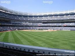 Yankee Stadium Floor Plan Yankee Stadium Field Level 103 Seat Views Seatgeek