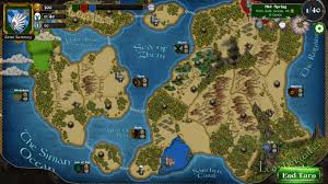 I 35 Map Fantasy Map From Our Game With Islands Of Different Sizes It U0027s