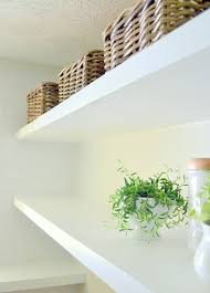 How To Decorate Floating Shelves Finally How To Create Long Deep Shelves That Aren U0027t Bulky