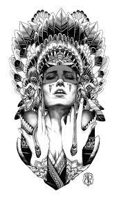 cherokee indian tribal tattoo