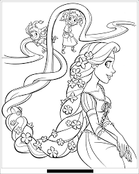 raiponce disney 6 tangled coloring pages coloring for kids