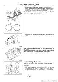nissan maxima axle seal leak nissan patrol 1998 y61 5 g front suspension workshop manual