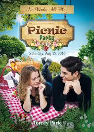 picnic party flyer template photoshop version free flyer templates