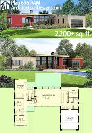 Open Concept Ranch Floor Plans Best Modern House Plans with