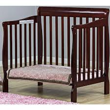 3 In 1 Mini Crib On Me 3 In 1 Aden Convertible Mini Crib Cherry 628c Ny