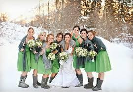 winter bridesmaid dresses winter bridesmaid dress styling ideas weddceremony