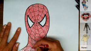 draw spiderman step step video dailymotion
