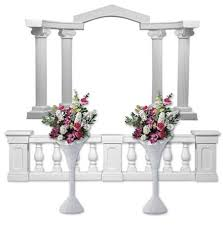 wedding arches and columns wholesale 11 best wedding columns and colonnades images on