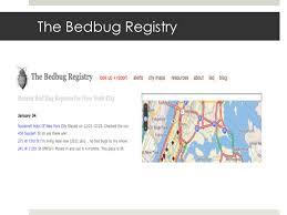 National Bed Bug Registry Legislative Advocacy Session Amy Ost And Tolu Onigbanjo A Dr O