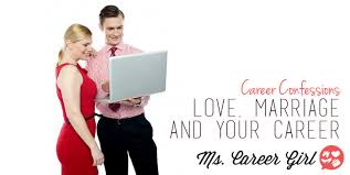 carriã re mariage career confessions marriage and your career ms career
