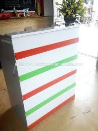 Retail Reception Desk Desk Reception Desk Made From Palettes Retail Front Desk