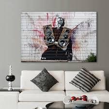Graffiti Art Home Decor Online Get Cheap Graffiti Banksy Aliexpress Com Alibaba Group