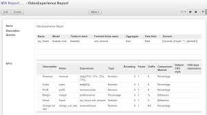 report builder templates mis builder odoo apps