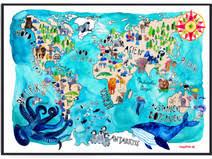 weltkarte für kinderzimmer weltkarte kinderzimmer 68 individuelle produkte aus der