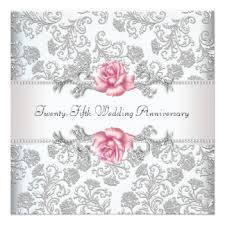 Silver Wedding Invitations Silver Wedding Invitations U0026 Announcements Zazzle Canada