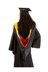 master s cap and gown of masters only co op