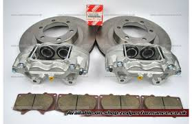toyota land cruiser 3 0 d 4d front brake calipers discs pads kdj120