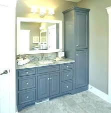 small bathroom cabinet storage ideas bathroom furniture ideas a traditional bathroom with stained solid