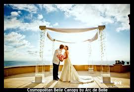 wedding chuppah rental acrylic lucite modern wedding chuppah rentals arc de 855 332