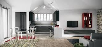 cucine e soggiorno cucine soggiorno tra cucina e living cucine moderne