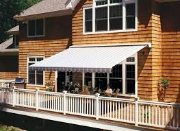 shade over deck retractable awning deck patio diy deck shade ideas