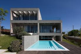 architectures modern minimalist house design 2 floor very plus