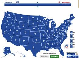 2016 Presidential Usa Election Prediction Electoral Map by Nate Silver On Twitter