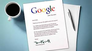 little u0027s cute letter gets her dad a week off at google