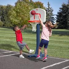 step2 shootin hoops junior basketball set toys