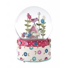 gisela graham patchwork birdhouse musical snow globe gisela graham