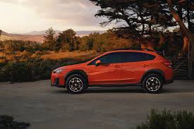 black subaru hatchback first drive 2018 subaru crosstrek ny daily news