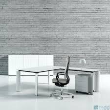 bureau en verre blanc bureau design montpellier 34 nîmes 30 béziers