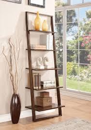 leaning shelves wrought studio simonetti 72 leaning bookcase