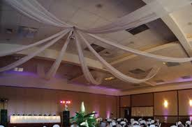 Chiffon Ceiling Draping Ceiling Swag Party Pleasers Services