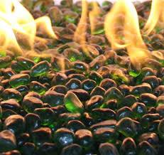 Glass Beads For Fire Pits by Jade Green Ecoglass Beads Fire Glass 10 Lbs Unit Fireboulder